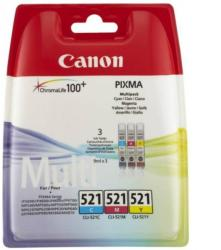 Canon CLI-521 Color MultiPack (C/M/Y) 2934b007