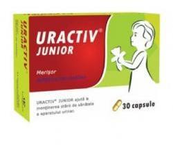 Fiterman Pharma Uractiv Junior - 30 comprimate