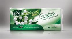 Milyo Papírzsebkendő Gyöngyvirág Illattal 100db