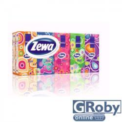 Zewa Style papírzsebkendő 3 rétegű 10 x 10db