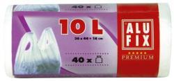 Alufix Szemeteszsák köthető füllel 10L 44x36cm 40db (KHT251)