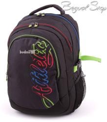budmil fekete-mintás hátizsák (111149/S42)