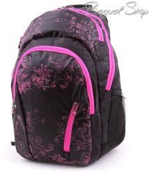 budmil fekete-pink hátizsák (111206/S4)