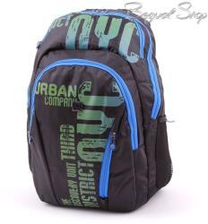 budmil fekete-kék-zöld hátizsák (111206/S7)