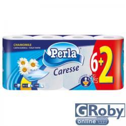 Perla Caresse kamillás toalettpapír 6+2db