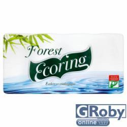 Forest Ecoring toalettpapír 8db