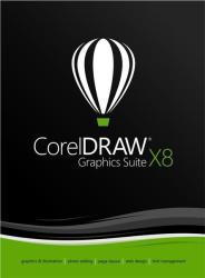 Corel CorelDRAW Graphics Suite X8 Upgrage LCCDGSX8MLUG1