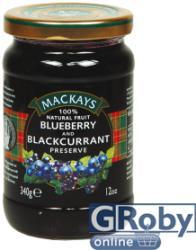 Mackay's Áfonya-feketeribizli dzsem 340g