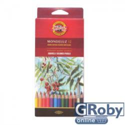 KOH-I-NOOR Aquarell színes ceruza 12db (18292)