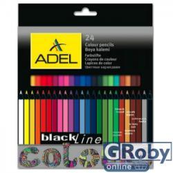 ADEL Színes ceruza 24db