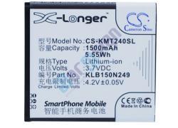 Utángyártott KAZAM Li-ion 1500 mAh KLB150N249