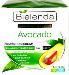 Bielenda Crema nutritiva avocado de zi si noapte 50ml