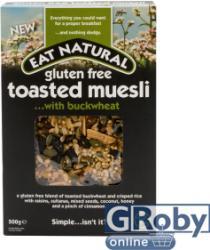 EAT NATURAL Gluténmentes müzli hajdinával 500g