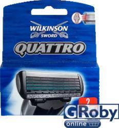 Wilkinson Sword Quattro Borotva Betét 2db