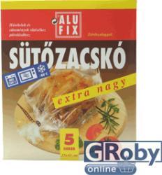 Alufix Zárószalagos extra nagy sütőzacskó 5db