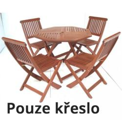 Island fa kerti szék