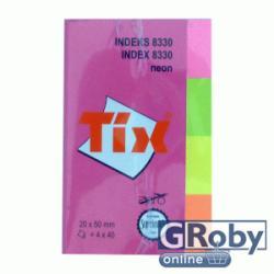 TIX 4 színű oldaljelölő