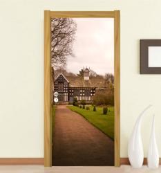 Арт Декорация Стикер за врата модел 0060