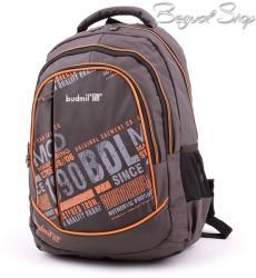 budmil szürke-narancssárga hátizsák (111187/S11)