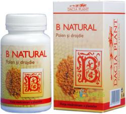 DACIA PLANT B Natural Polen si Drojdie - 60 comprimate