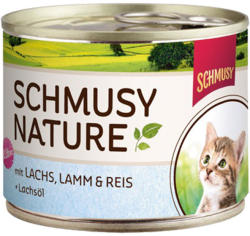 Schmusy Nature Kitten Salmon & Lamb 190g
