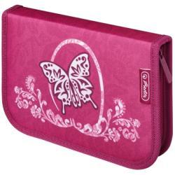 Herlitz 31 részes tolltartó - Rose Butterfly
