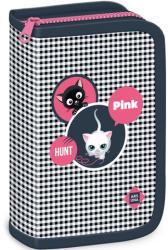 Ars Una Think-Pink kockás töltött tolltartó 2016