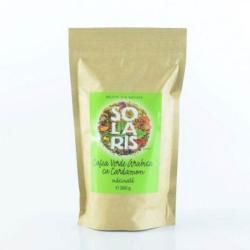 Solaris Cafea verde arabica macinata cu cardamon 260g