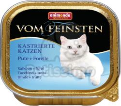 Animonda Vom Feinsten Kastrierte Turkey & Trout 12x100g