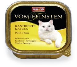 Animonda Vom Feinsten Kastrierte Turkey & Cheese 16x100g