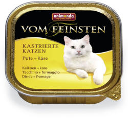 Animonda Vom Feinsten Kastrierte Turkey & Cheese 6x100g