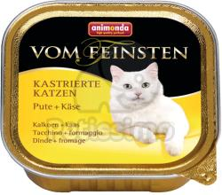 Animonda Vom Feinsten Kastrierte Turkey & Cheese 24x100g