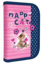 Junior Happy Cat töltött tolltartó