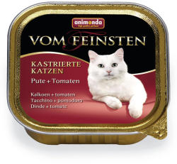 Animonda Vom Feinsten Kastrierte Turkey & Tomatoe 6x100g