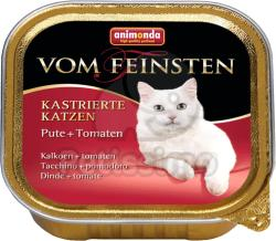 Animonda Vom Feinsten Kastrierte Turkey & Tomatoe 24x100g