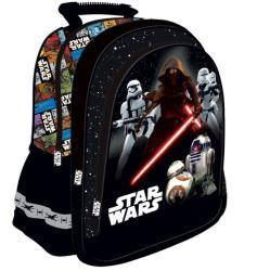 UNIPAP Star Wars VII iskola hátizsák, 38x29x11cm - kék (221651)