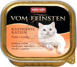 Animonda Vom Feinsten Kastrierte Turkey & Salmon 18x100g