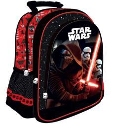 UNIPAP Star Wars VII iskola hátizsák, 38x29x11cm - piros (221408)