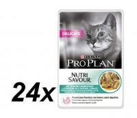 PRO PLAN Delicate Seafood 24x85g