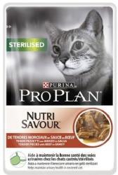 PRO PLAN Sterilised Beef 24x85g