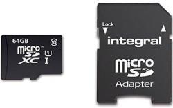 Integral MicroSDXC  Ultima Pro 64GB Class 10 INMSDX64G10-90U1