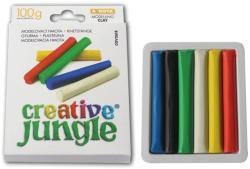 SaKOTA Creative Jungle színes gyurma - 6 db-os (100g)