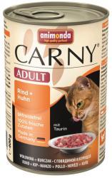 Animonda Carny Adult Beef & Chicken 24x400g