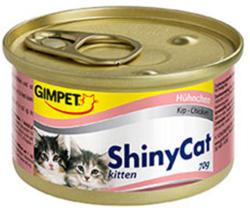 Gimpet ShinyCat Kitten Chicken 24x70g