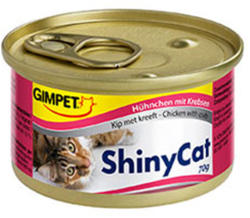Gimpet ShinyCat Chicken & Crab 24x70g
