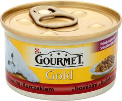 Gourmet Gold Beef & Chicken 24x85g