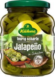 Kühne Jalapeno Paprika Savanyúság (330g)