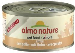 Almo Nature Legend Kitten Chicken Tin 24x70g