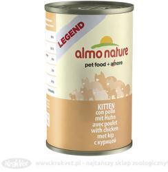 Almo Nature Legend Kitten Chicken Tin 24x140g