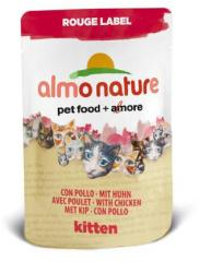 Almo Nature Rouge Label Kitten 6x55g